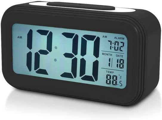LED Digital Backlit Alarm Clock WithThermometre And Calender image 1