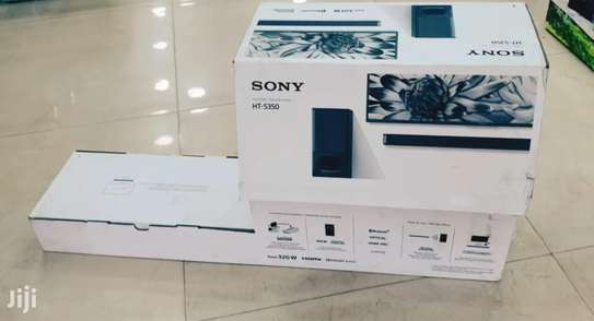 Sony HT-S350 2.1CH Soundbar And Subwoofer - Black-NEW image 1
