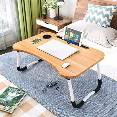?Foldable bed laptop table image 1