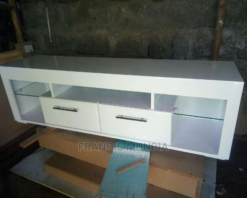 White Tv Stand image 1