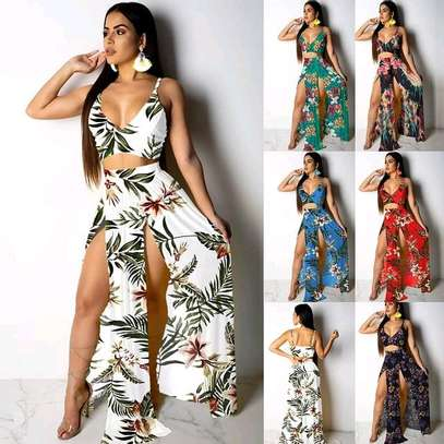 Maxi Skirt Two Piece Set image 5