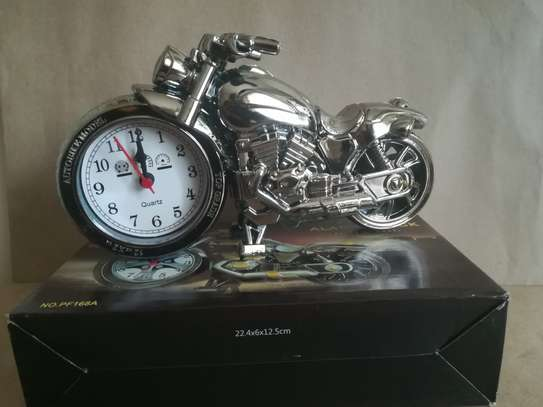 Creative Motorcycle shaped Alarm clock image 3