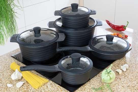 Cookware marble set 10pcs EB-5631 image 2