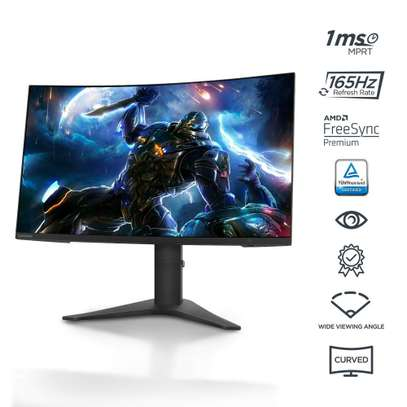 Lenovo G27c-10 FHD WLED Curved Gaming Monitor image 1