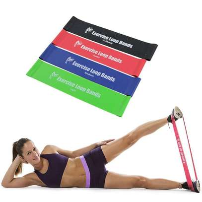 Loop Exercise Resistance Bands (set of 4)