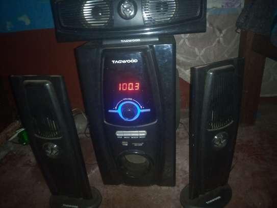 Tagwood mulltimedia speaker system image 2