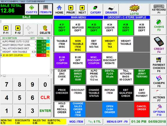 Point Of Sale POS Software System For Hardware Shops,Supermarkets,ETC