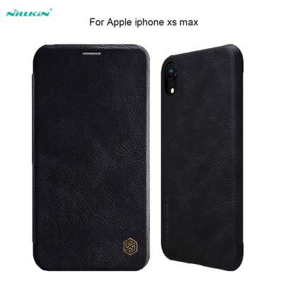 Nillkin Qin Series Leather Luxury Wallet Pouch For iPhone XR and iPhone XS Max image 6