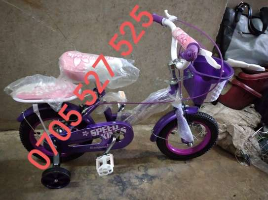 12inch purple BmX speedking bike