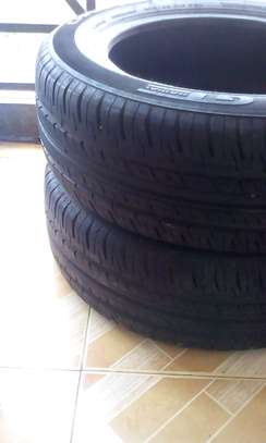 Two 205/60 R 16 92H GT Radial Tubless Tyres....Champiro Tyres image 1