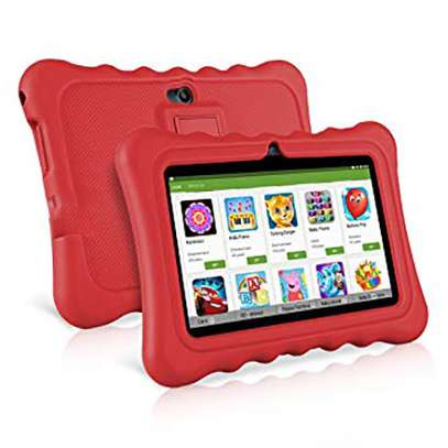 7 inch kid Quad Core DDR3 1GB, 8GB Android Tablets PC, WIFI - Red image 1