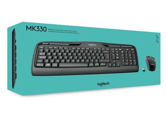 logitech mk330 keyboard image 1