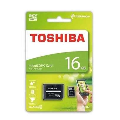 Toshiba Micro SD Memory Card - M102 - 16GB - Black image 1