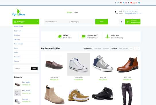 Online Shop With Mpesa Payment
