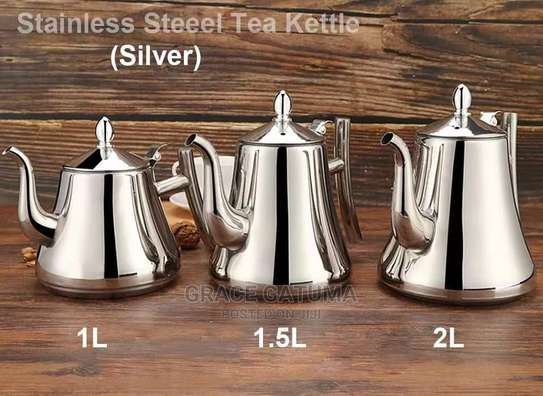 Stainless Steel Kettle With Filter image 1