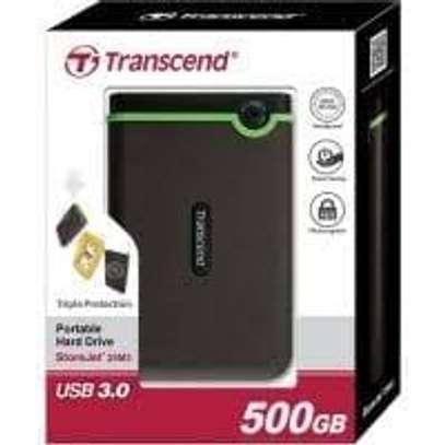 HARD DISK 500 GB TRANSCEND image 1