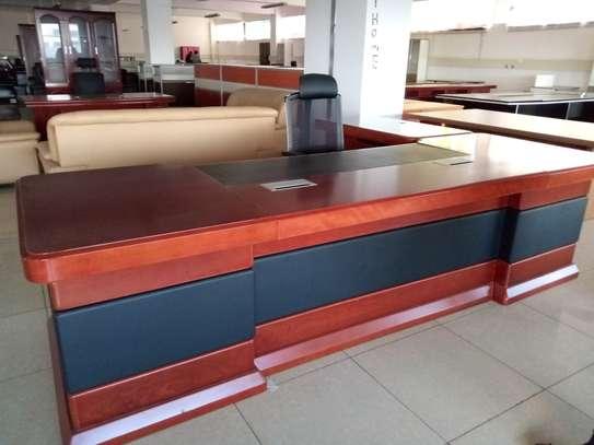 Executive office desk 3.2metres image 3