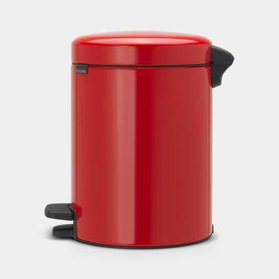 Newicon Pedal Bin 5L – Passion Red image 2
