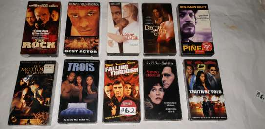 ORIGINAL USED DVDS MOVIES AND VHS MOVIES CASSETTES. image 1