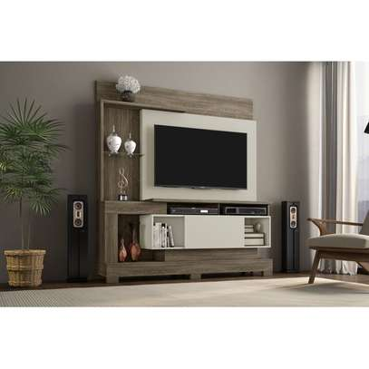 """TV Wall Unit Rack ( Notavel Madri 57053 ) - TV space up to 50 """" - Cinnamon / Sand image 2"""