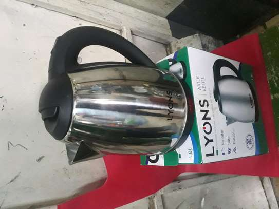 Stainless steel electric kettle/kettle heator image 1