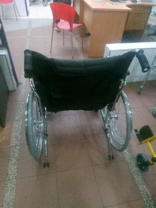 Extra wide wheelchair image 4
