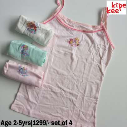 Girls Cartoon Themed Vests image 3