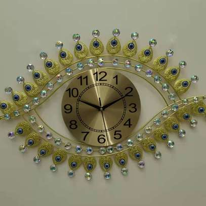 Question mark wall clock image 4