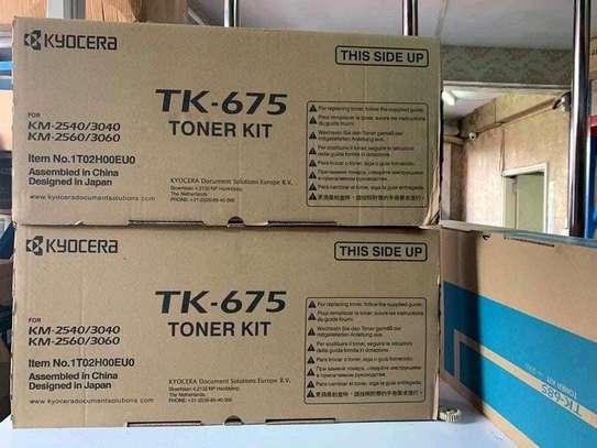 Kyocera TK 675 genuine toners image 1
