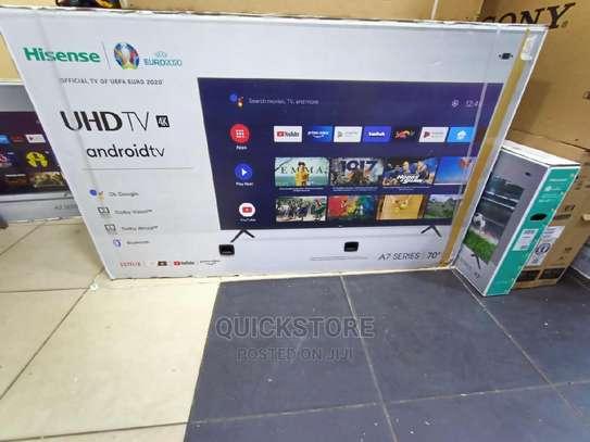 Hisense 70A7200F - 70'' UHD 4K Android Smart TV image 1