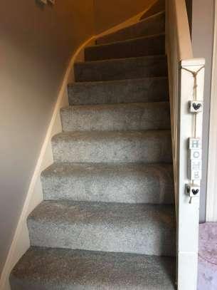 Charcoal grey wall to wall carpets image 12