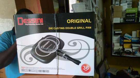 36cm Double Grill Pan