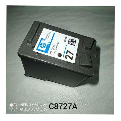 27 inkjet cartridge C8727A black only image 1