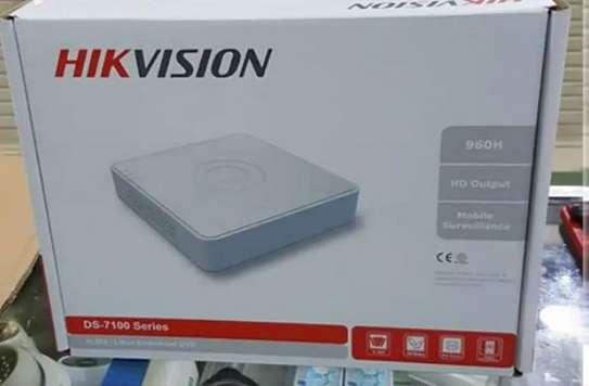 4 Channel Hikvision Dvr-720p-plastic image 1
