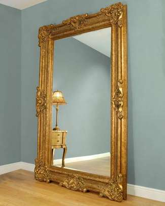 Antique 7foot mirrors image 1
