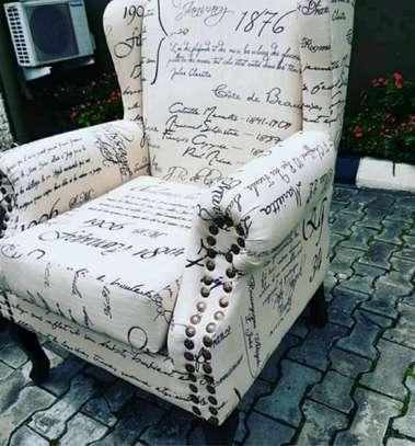 Fabulous Modern Quality Wingback Chair