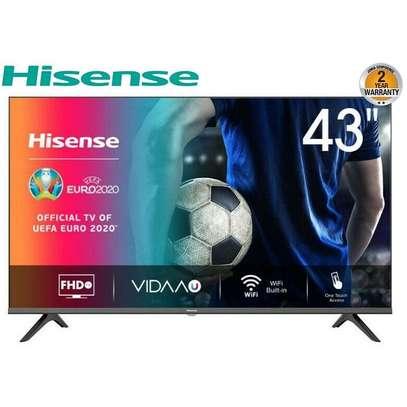 "Hisense 43"" Full HD Smart Frameless LED Television - Black image 1"