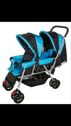 Twin Stroller image 1