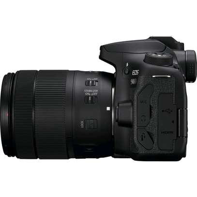 Canon EOS 90D DSLR Camera 32.5MP 3.0 LCD Screen Wi-Fi and Bluetooth Plus Lens 18-135 USM Lens Kit image 2