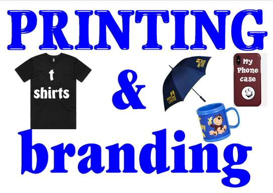 T Shirt Printing And Branding-fabric/Plastic/Glass/Metalic