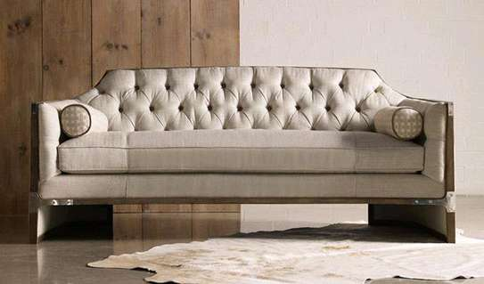 Three seater chesterfield sofas for sale in Nairobi Kenya/Beige sofas for sale in Nairobi Kenya image 1