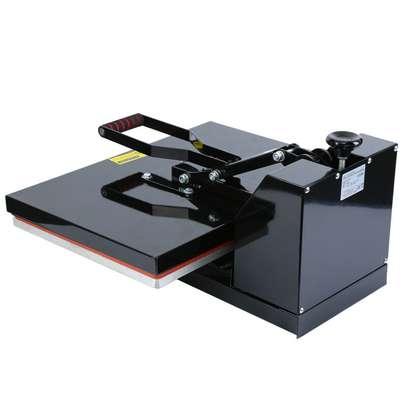 1600W Clamshell Heat Press Transfer T-Shirt Sublimation Machine Ridgeyard image 7