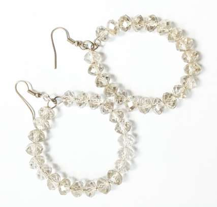 Crystal Loop Earrings