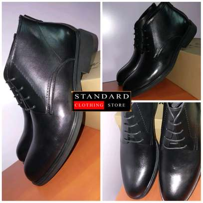 PURE ITALIAN LEATHER SHOES WITH RUBBER SOLE image 24