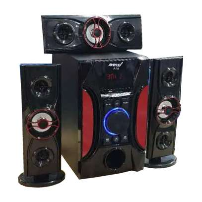 Ampex A18 12000 Watts Multimedia Speaker System-black image 1