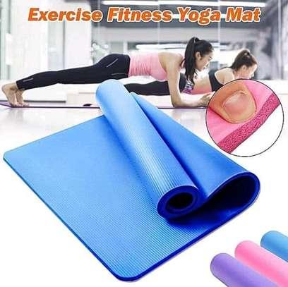 EXERCISE FITNESS YOGA MAT image 1