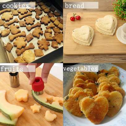 12pcs cookies cutter image 2