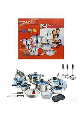 25pcs Zepter stainless steel pots