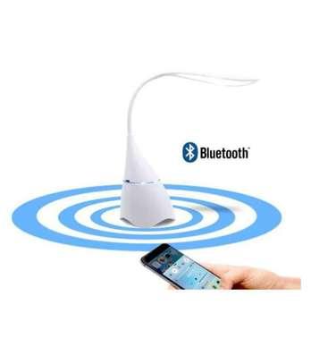 LED  Desk Table Lamp Bluetooth Audio Speaker image 1