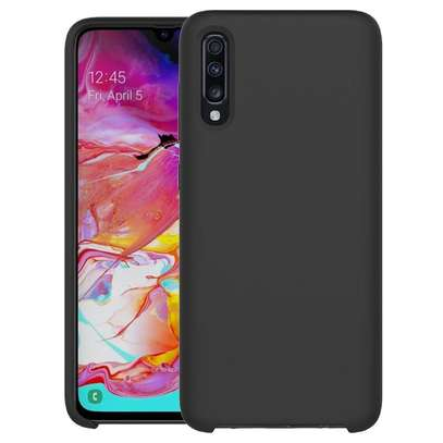 Silicone case with Soft Touch for Samsung A70,A60,A50,A40,A30,A20 image 1